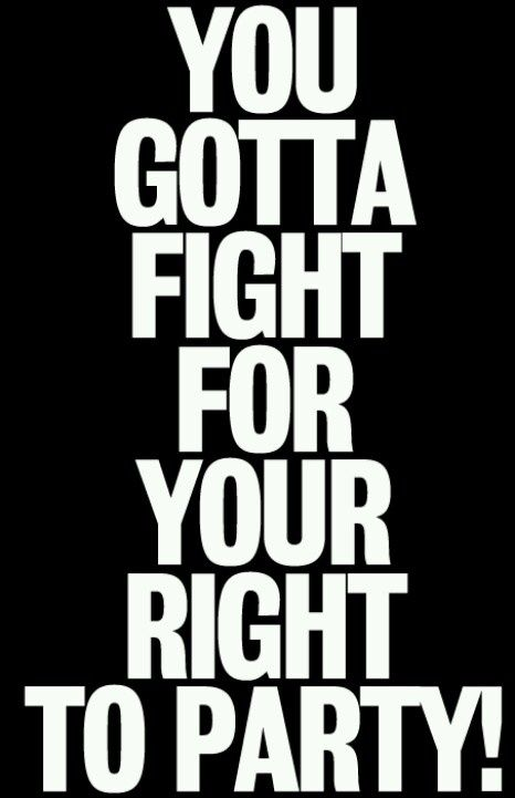 Rock music to fight to