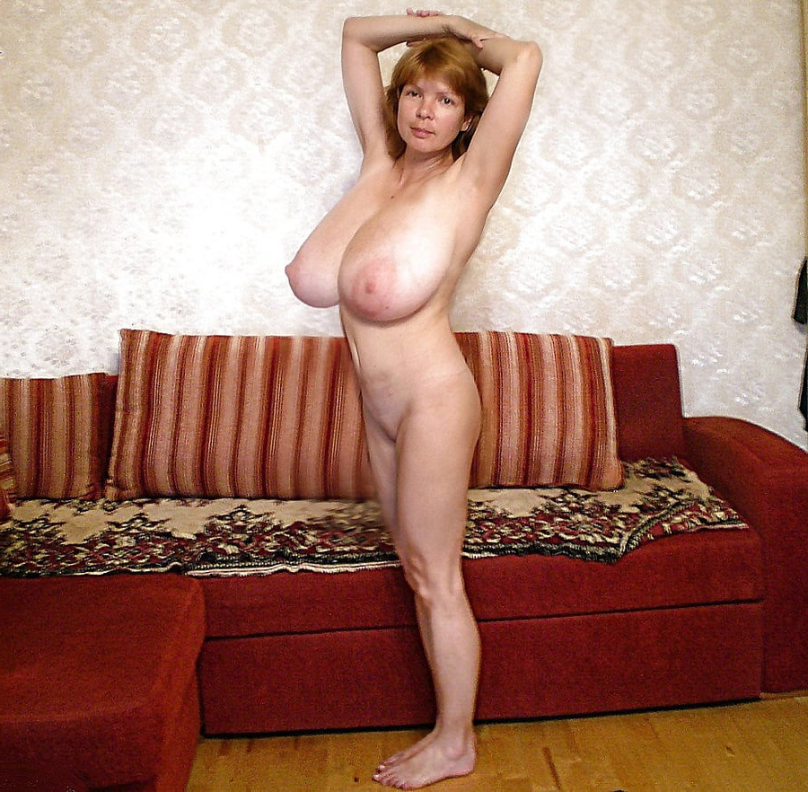 Mature with big tits fucking