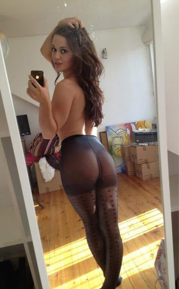 Topless women in yoga pants images