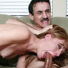 Old man with big cock pound young pussy