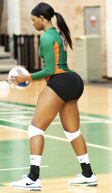 Volleyball player big booty